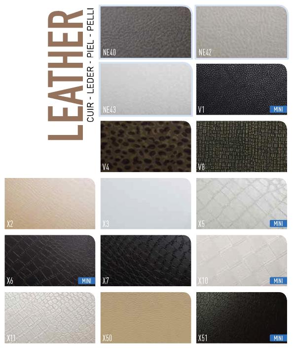 Interieurfolie Leather design
