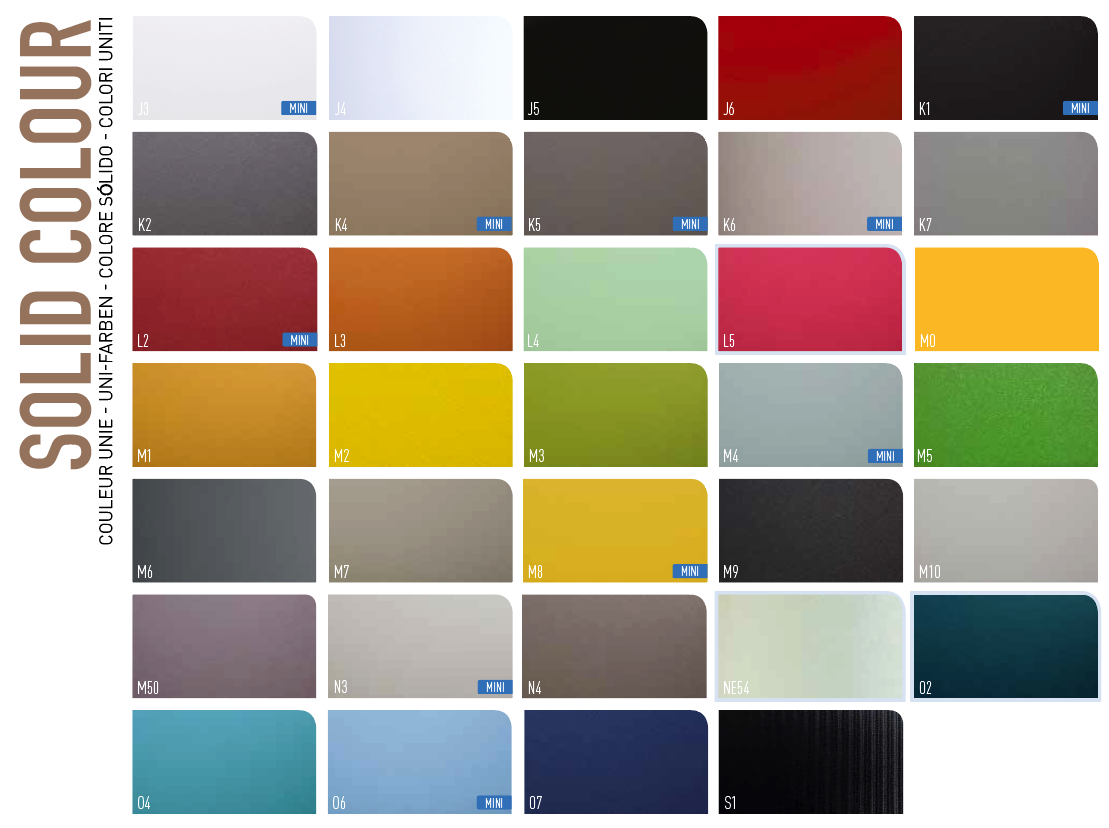 Interieurfolie Solid Colors