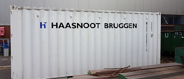 Containerbelettering